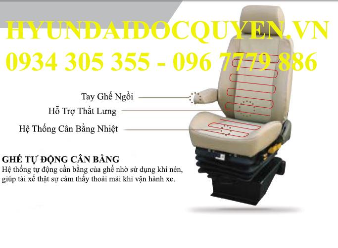 ghế của ben daewoo 15 tấn