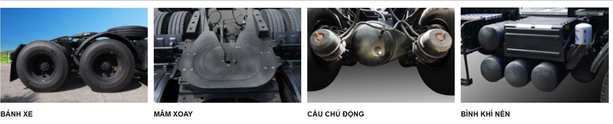 hiệu xuất của đầu kéo hyundai hd700