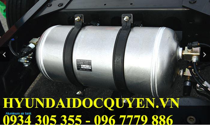 sử dụng hệ thống phanh khí nén daewoo k4def