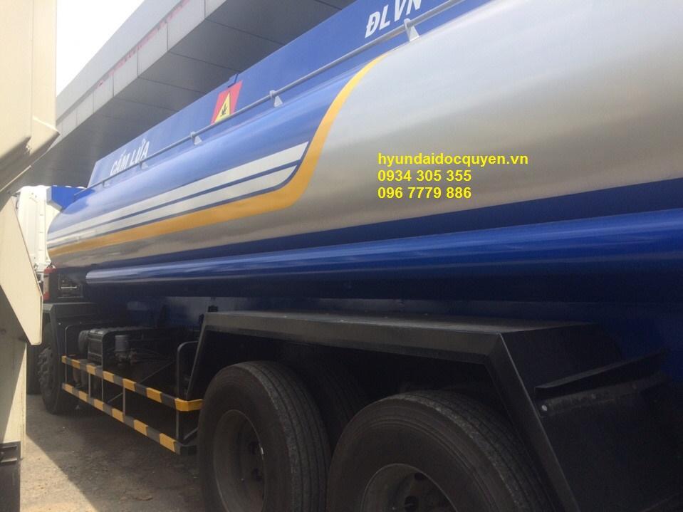 Xe bồn chở xăng dầu Hyundai HD320 21 khối | Xitec HD320 21 Khối