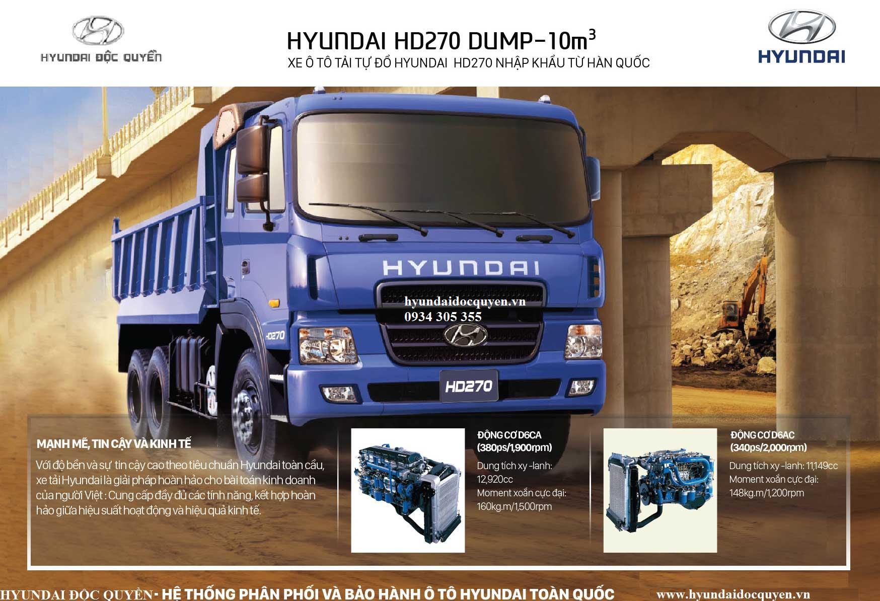 xe-ben-hyundai-hd270-nhập-khẩu