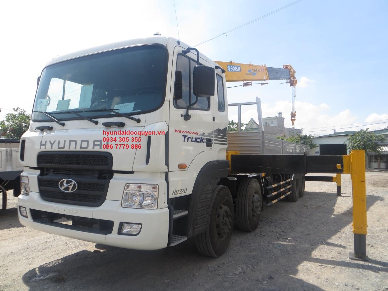 xe cẩu hyundai 10 tấn gắn cẩu tự hành soosan scs1015ls (1)