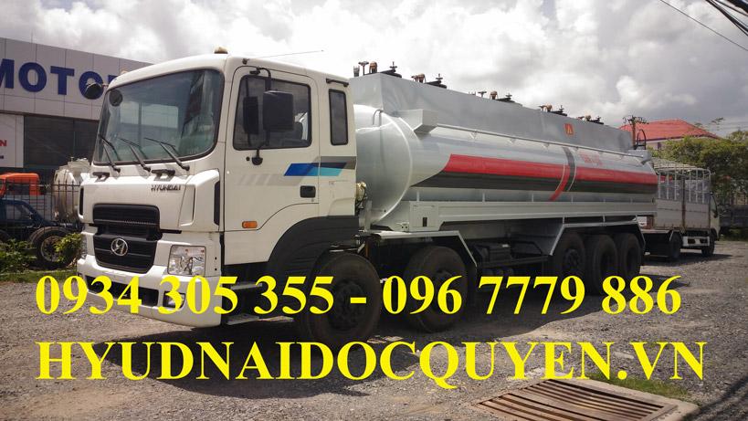 xe bồn chở xăng dầu 26 khối