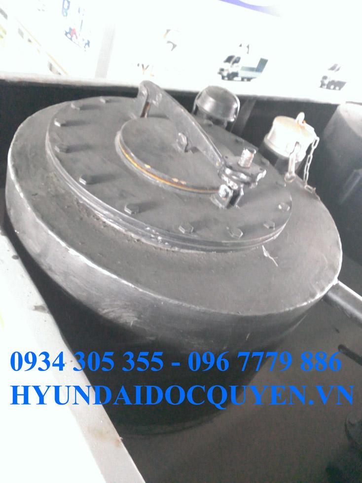 XE BỒN XITEC XĂNG DẦU HD320 22 KHỐI | HYUNDAI 4 CHÂN CHỞ XĂNG DẦU 22000 LÍT