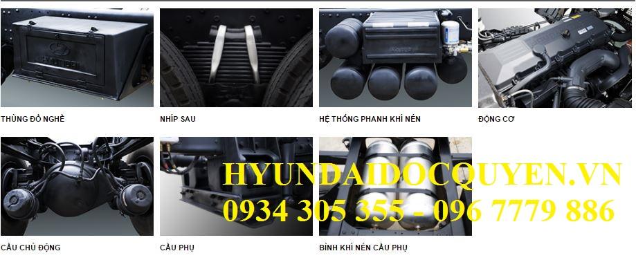 xe tải 5 chân hyundai hd360
