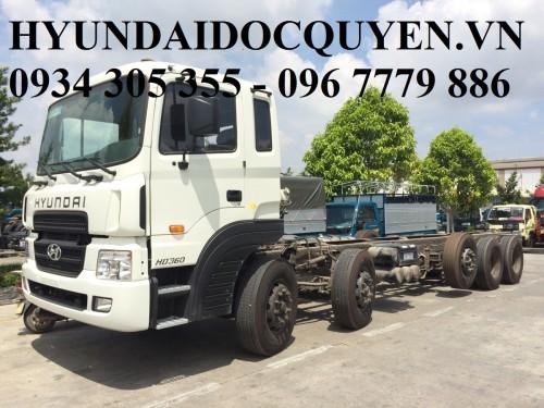 xe tải hyundai 5 chân hd360