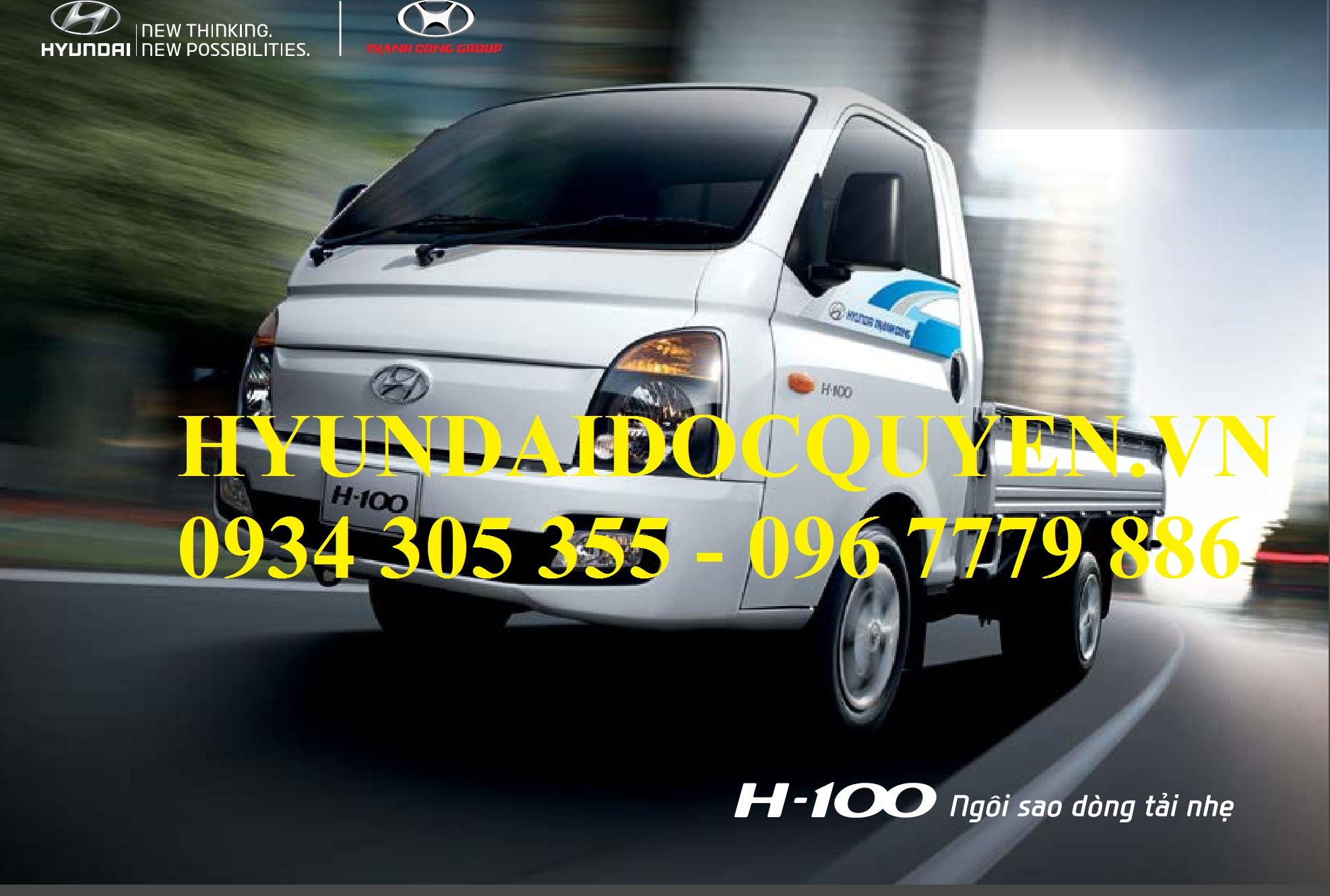 h100 hyundai porter 1 tấn thành công