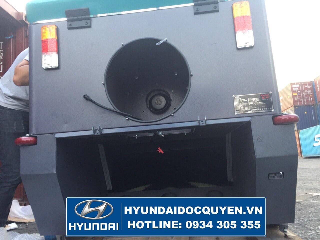 động cơ xe quét rác hút bụi mini kl2100