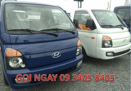 Giá Xe Tải Hyundai 1.5 Tấn New Porter H150 Thùng Cánh Dơi